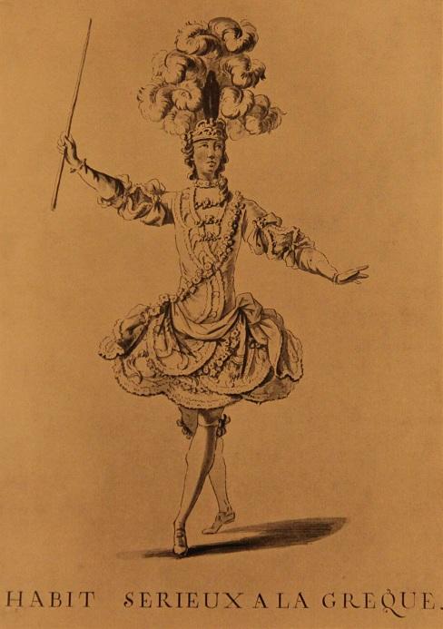 Греческий костюм, 18 век. Художник Бокэ